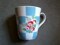 Cath Kidston floral and squares mug
