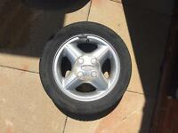 2 Ford Fiesta Alloys + Tyres