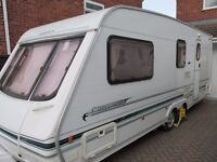 2001 SWIFT CONQUEROR 580 SA LUX 4 BERTH CARAVAN MOTOR MOVER AWNING ANNEXE LOADS OF EXTRAS