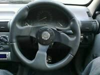 Vauxhall corsa b rally steering wheel