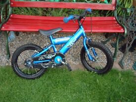 Silverfox, Raven, child's, toddlers , mountain bike starter bike. there's no stabilisers.