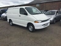 TOYOTA HIACE GS POWER VAN IN VGCONDITION LOVELY ULTRA RELIBLE TOYOTA SIDE LOADING DOOR RARE NOW