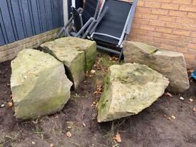 Garden stones - rockery, feature