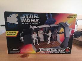 Star Wars 1996 toy set