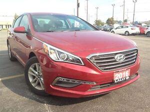 2016 Hyundai Sonata GL, Bluetooth, Rear Cam, Heated Seats, Save