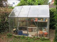 Greenhouse 8ftx6ft from Homebase