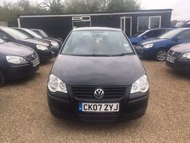 Volkswagen Polo 1.2 E Hatchback 3dr 2007* IDEAL FIRST CAR * CHEAP INSURANCE * HPI CLEAR