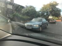 Mercedes c200 12 months mot,alloys,drives mint CHEAP AT £500 Ono