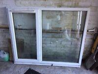 White UPVC window 1465 x 1160