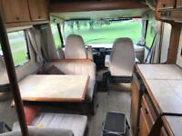 Hymer Mobil 2.5 turbo diesel 4 birth camper