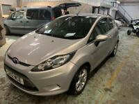 2012 Ford Fiesta zetec 1.25 petrol 5 speed manual silver 3Dr hatchback 89k 1 owner £2250ono