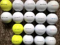 18 Titleist DT SOLO golf balls in very good condition