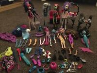 Huge collection of monster high
