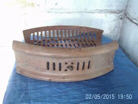 old fire great and front cast iron