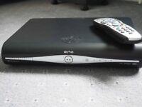 Sky+ HD box and remote. Model DRX890W-C..