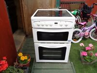 BEKO CERAMIC ELECTRIC COOKER 60 CM DOUBLE OVEN