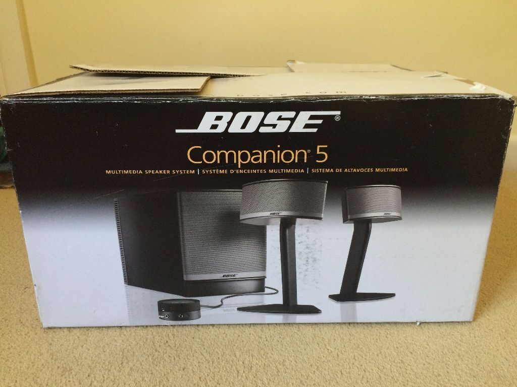 bose companion 5 speakers in victoria london gumtree. Black Bedroom Furniture Sets. Home Design Ideas