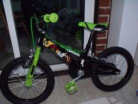 """Boy's 16"""" Ben 10 bike"""