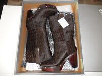 NEW ROCKPORT Wedge Boots - Katja K53792 - Limited Design - UK 4, Eur 37
