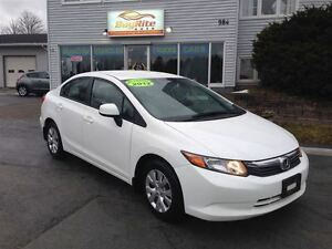 2012 Honda Civic LX AC, cruise, Bluetooth