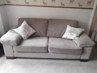2 & 3 seater sofas with cushions
