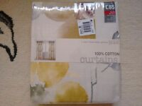 """A Pair Of """"Next"""" Eyelet Curtains (Brand New)"""