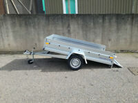 Car trailer 8,6ft X 4,4ft 750 kg single axle tipper trailer brand New