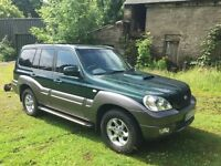 Amazing condition Hyundai Terracan Limited Edition - FOR SALE - must be seen - excellent for towing