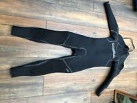 O'NEILL SECTOR 5MM DIVE BACK ZIP WETSUIT