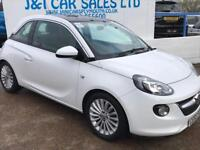 VAUXHALL ADAM 1.2 GLAM 3d 69 BHP A GREAT EXAMPLE INSIDE AND OUT (white) 2015