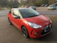 DS 3 1.6 BlueHDi DStyle (s/s) 3dr (15 - 16) Low Mileage!