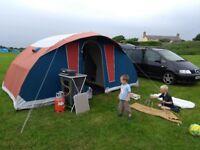 Cabanon Latitude vis-a-vis Canvas Tent 4/5 man