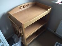 Quality Baby Changer and Storage Unit (Mamas and Papas)
