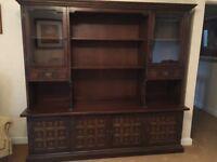 Display Cabinet Sideboard Younger Toledo Dark Oak Dresser