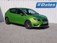 Seat Ibiza 1.4 TSI FR ACT 5DR (green (lima)) 2014