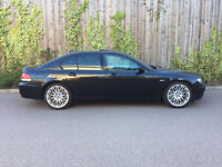 BMW 750I + 4.8 V8 + SPORT + 2006 + AUTO + BLACK + 138K FULL SERVICE HISTORY