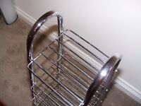 Chrome Saucepan Stand (two available)