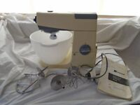KENWOOD CHEF FOOD MIXER 1960'S A701 VINTAGE WITH ATTACHMENTS