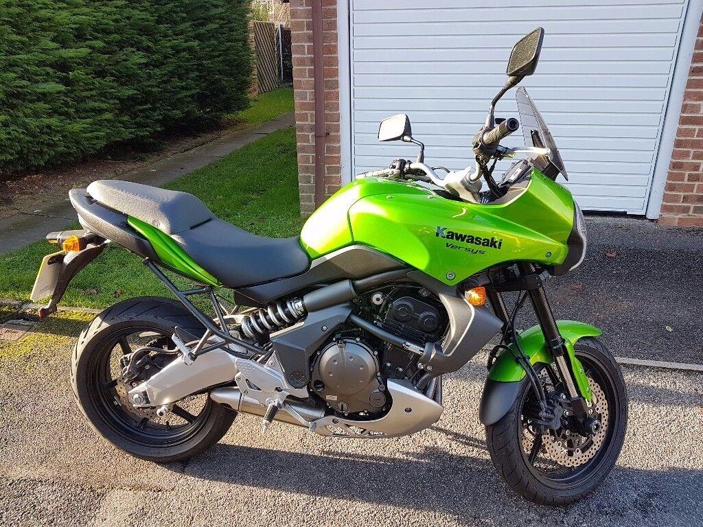 2009 Kawasaki Versys 650 ABS Green