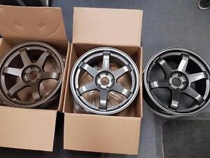 Summer rim and tire sale TE 37 style advan ce style 17 18 inch