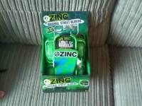 New in box Hamleys zinc original street gliders colour green