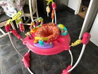 Fisher price large pink jumperoo