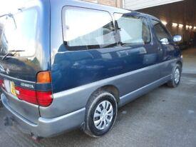 TOYOTA Granvia MPV, 8 Seats, 3 Ltr Diesel, 130,000 miles. 1995 - 'N' Plate