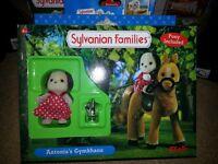 sylvanian families antonias gymkhana