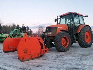 2005 kubota M125X Tracteur