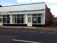 Double Fronted Shop with A5 permit also good for retail 600 sqr ft