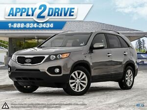 2011 Kia Sorento Loaded Leather V6 7 Passanger  AWD L@@K