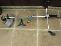 MacAllister Petrol Strimmer Brushcutter Trimmer MBCP 254 with accessories