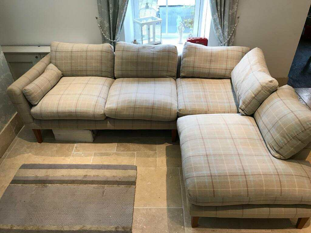 Laura Ashley Baslow Corner Set L Shaped Sofa In Keynes