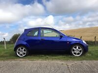 Fully Rebuilt and Repainted Ford KA Sport 2003 1.6L Corworth Imperial Blue
